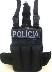 Porta Treco Original Hacker PRETO OU VERMELHO Com Porta Faca Tática