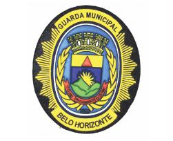 Brasão Emborrachado Guarda Municipal de Belo Horizonte