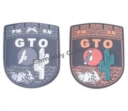 Novo Brasão Emborrachado GTO-RN Colorido ou Descolorido