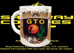 Caneca de Cerâmica GTO- RN