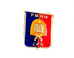 Brevê Metálico SGT PMRN para Uniforme Social