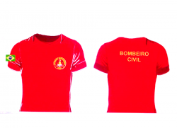 Camiseta Bombeiro Profissional Civil