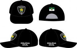 Boné Polícia Civil do Rio Grande do Norte