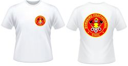 Camiseta Branca Bombeiro Profissional Civil