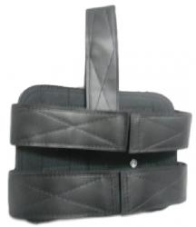 Coldre de Perna Samuray Universal para Pistola com Porta Carregador e Fiel