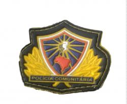 Brevê Emborrachado Polícia Comunitária + Frete Gratis
