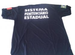 Camiseta Agente Penitenciário da Paraíba