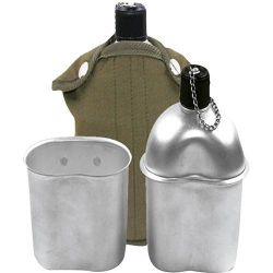 Kit Cantil de Alumínio 900ml Com Copo 500ml e Capa