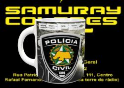 Caneca POLÍCIA CIVIL - CORE-RN