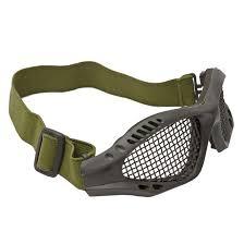 Óculos de Proteção para Airsoft Combat com tela - Preto