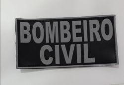 Tarjeta de Borracha Bombeiro Civil Descolorido