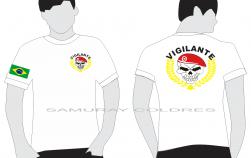 Camiseta Branca Vigilante