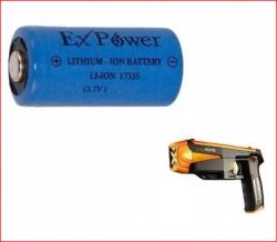 Bateria icr17335 3,7v  Para Pistola Taser Spark Condor