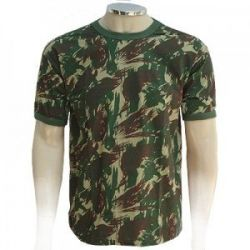 Camiseta Camuflada Exército