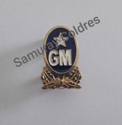 Broche Metálico Guarda Municipal Para Boina ou Uniforme