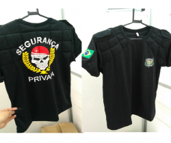 Camiseta Segurança Privada Masculina Acolchoada