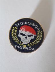 Distintivo de Boina Metálico Para Segurança Privada