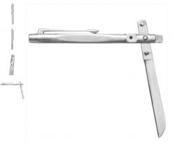 Canivete Caneta Aço Cirúrgco