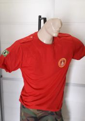 Camiseta Acolchoada Bombeiro Civil