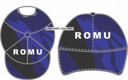 Boné ROMU Rip Stop Camuflado Woodland Azul
