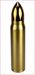 Garrafa Termica Bullet Munição Bala Projétil Inox 350ml