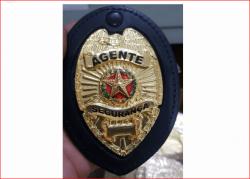 Distintivo Agente Segurança