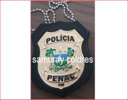 Distintivo Policia Penal do RN
