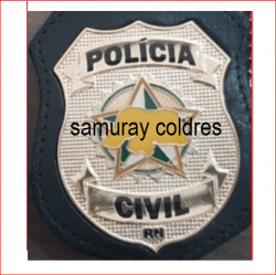 Distintivo Policia Civil do RN