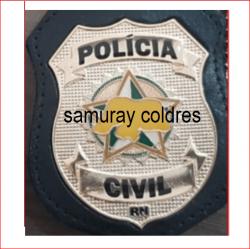 Distintivo Policia Civil do RN