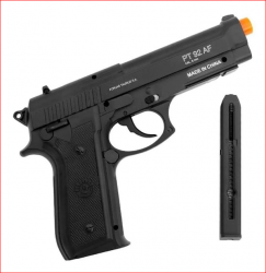 Pistola Airsoft A Gás Co2 Pt92 Full Metal