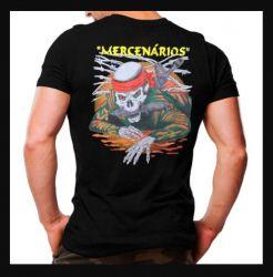 Camiseta MIlitar Mercenários- Atack