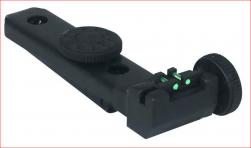 Alça De Mira Ajustável C/ Fibra Óptica Para Carabina Cbc