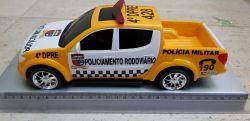 Mini Viatura Policia Rodoviária de Trânsito do RN- Amarelinhos