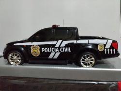 Mini Viatura Policia Civil do Rio Grande do Norte
