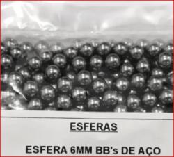 BBs Aço Calibre 6mm