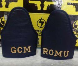 Braçal Azul Marinho ROMU, GCM ou GM