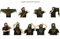 Shemagh Lenço Militar Árabe