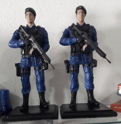 Estátua Policial Militar