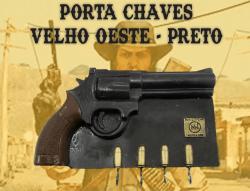 PORTA CHAVES REVOLVER 38 Velho Oeste